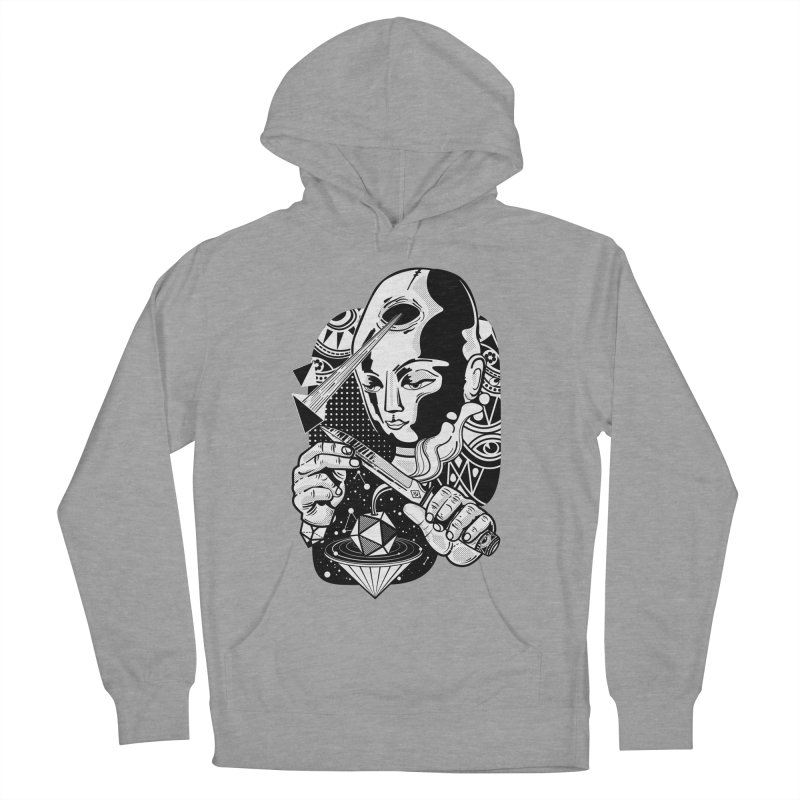 LOTOFACE Women's French Terry Pullover Hoody by kukulcanvas's Artist Shop