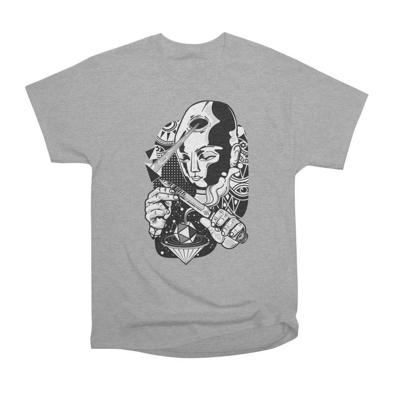 LOTOFACE Men's Heavyweight T-Shirt by kukulcanvas's Artist Shop