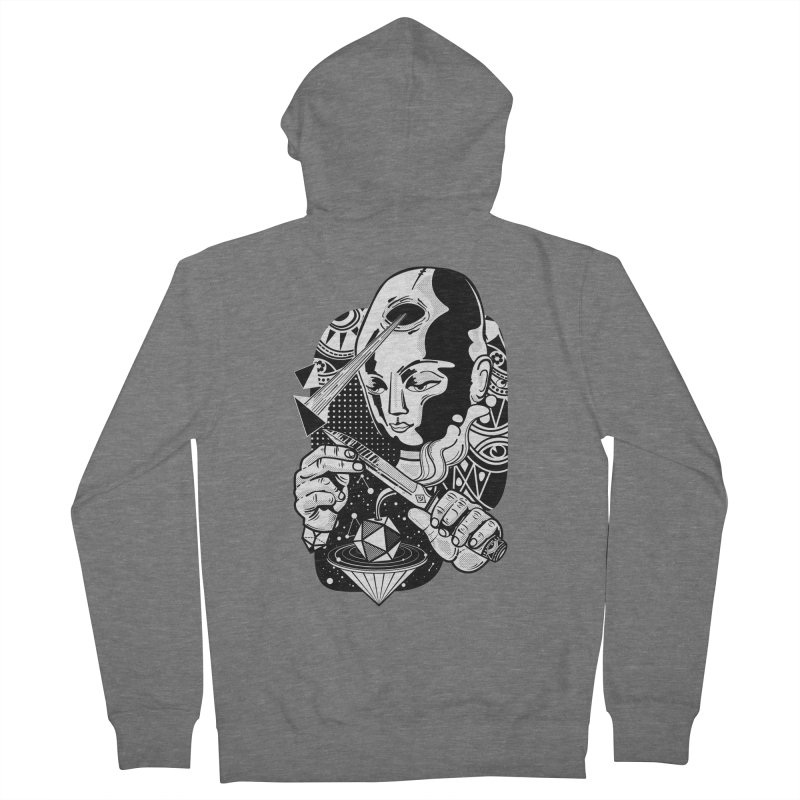 LOTOFACE Women's Zip-Up Hoody by kukulcanvas's Artist Shop