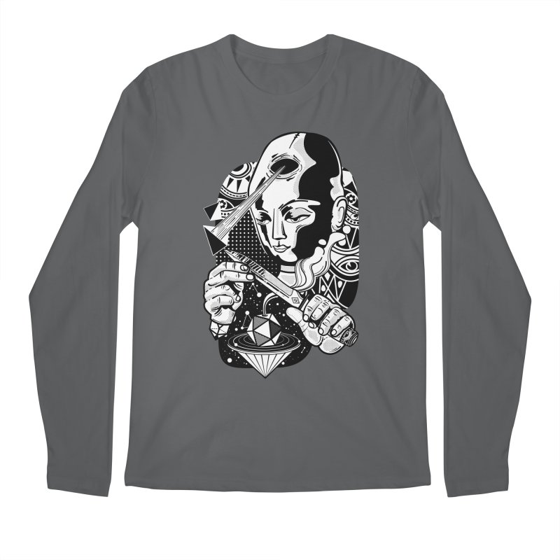 LOTOFACE Men's Regular Longsleeve T-Shirt by kukulcanvas's Artist Shop