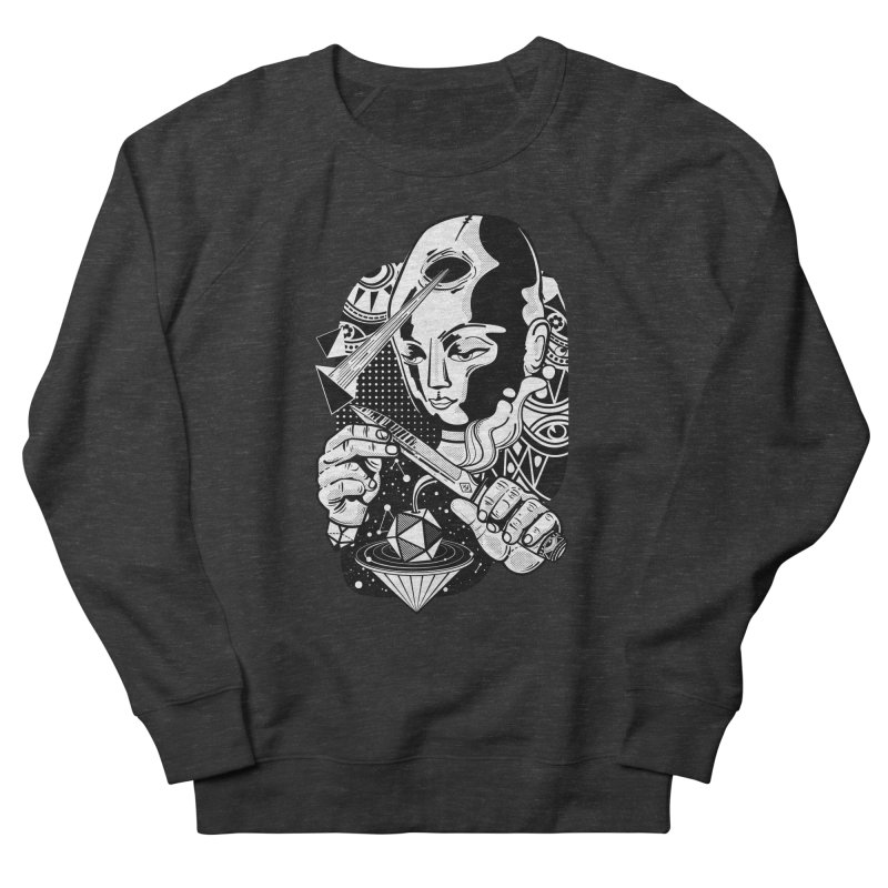 LOTOFACE Women's French Terry Sweatshirt by kukulcanvas's Artist Shop