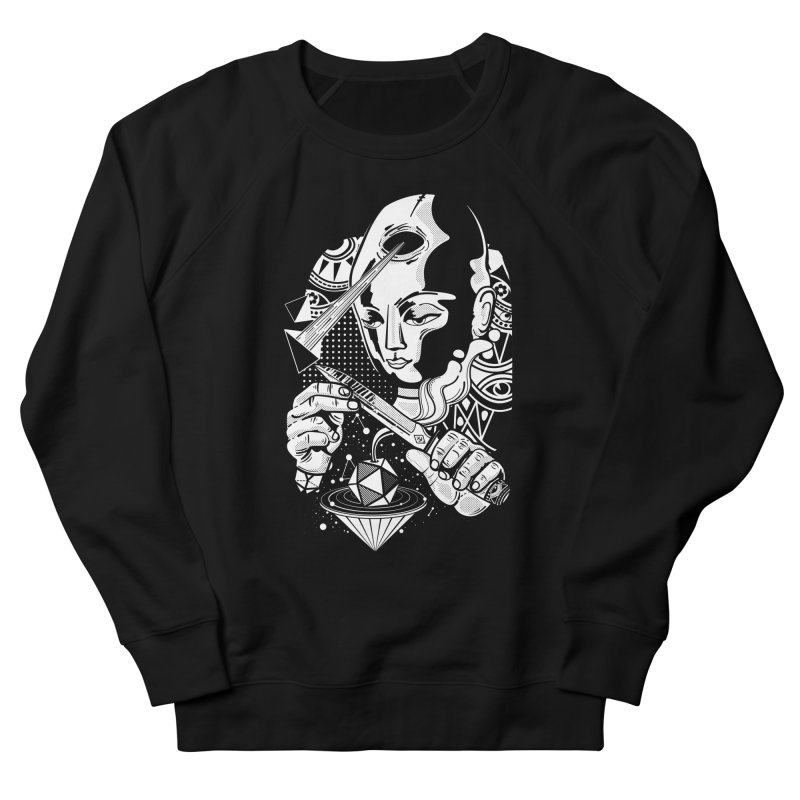LOTOFACE Men's French Terry Sweatshirt by kukulcanvas's Artist Shop