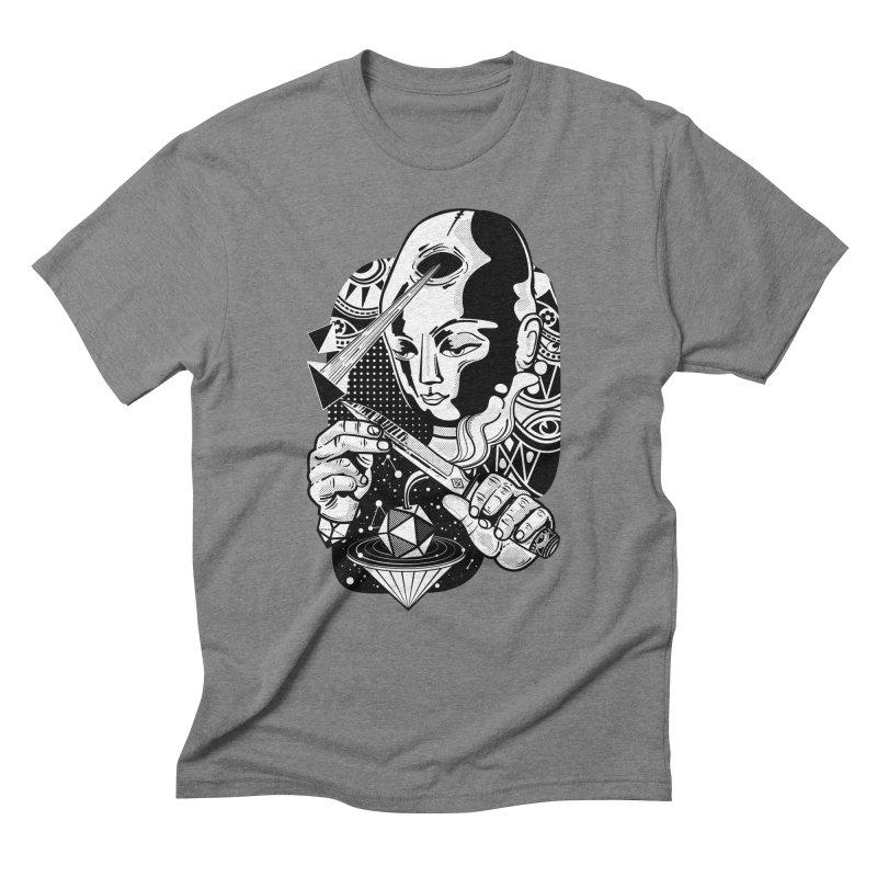 LOTOFACE Men's Triblend T-Shirt by kukulcanvas's Artist Shop