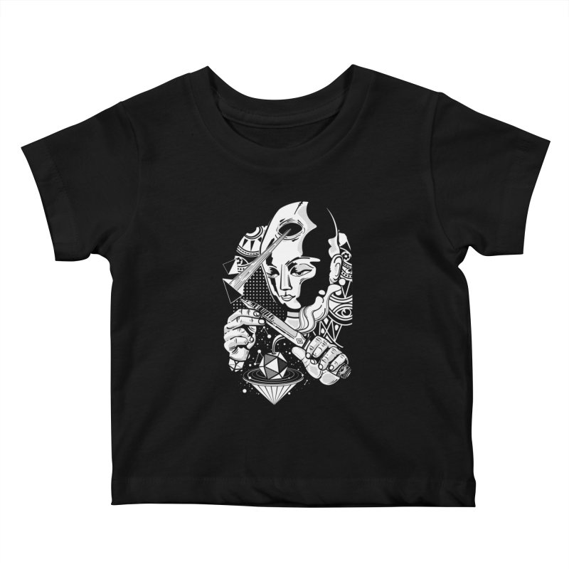 LOTOFACE Kids Baby T-Shirt by kukulcanvas's Artist Shop