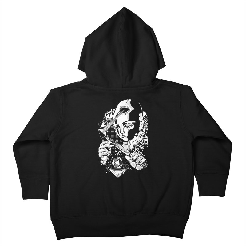 LOTOFACE Kids Toddler Zip-Up Hoody by kukulcanvas's Artist Shop