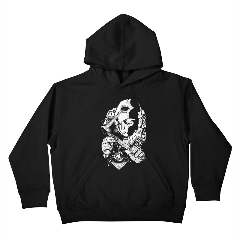 LOTOFACE Kids Pullover Hoody by kukulcanvas's Artist Shop