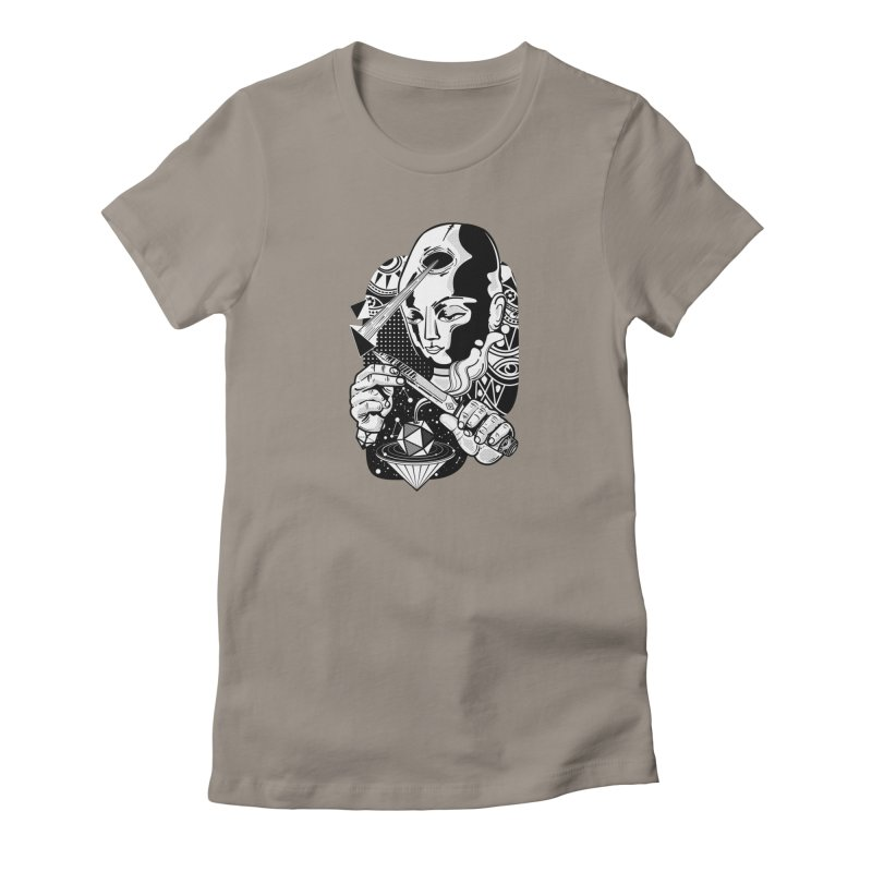 LOTOFACE Women's T-Shirt by kukulcanvas's Artist Shop