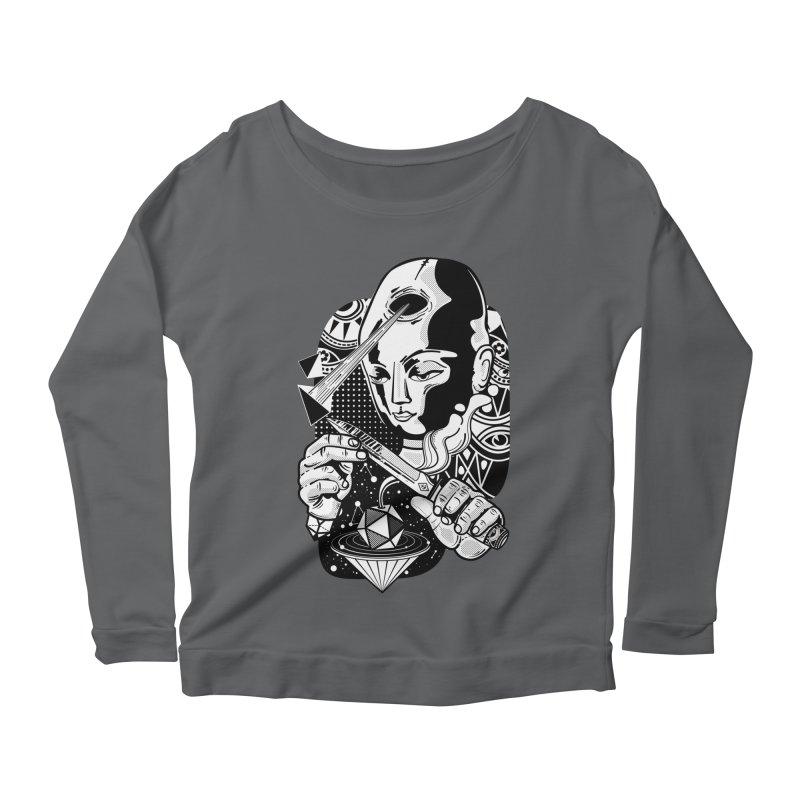 LOTOFACE Women's Longsleeve T-Shirt by kukulcanvas's Artist Shop