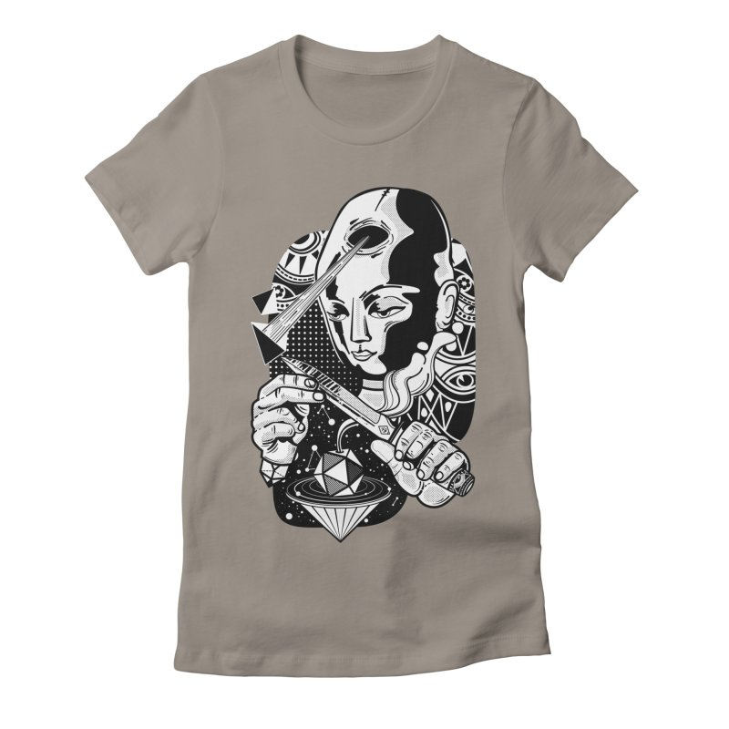 LOTOFACE Women's T-Shirt by kukulcanvas's Artist Shop
