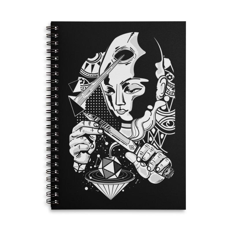 LOTOFACE Accessories Notebook by kukulcanvas's Artist Shop