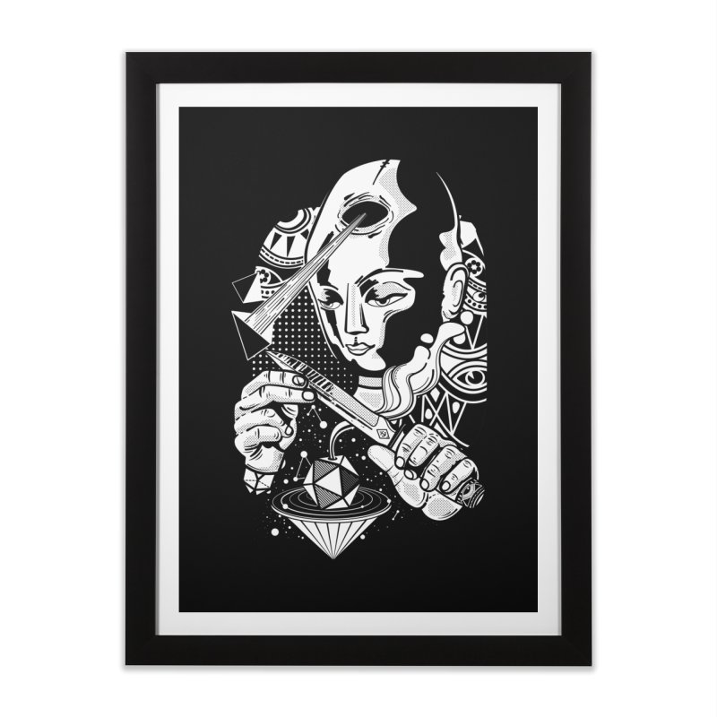 LOTOFACE Home Framed Fine Art Print by kukulcanvas's Artist Shop