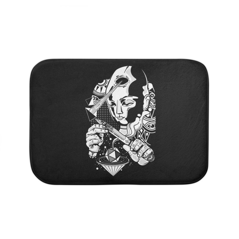 LOTOFACE Home Bath Mat by kukulcanvas's Artist Shop