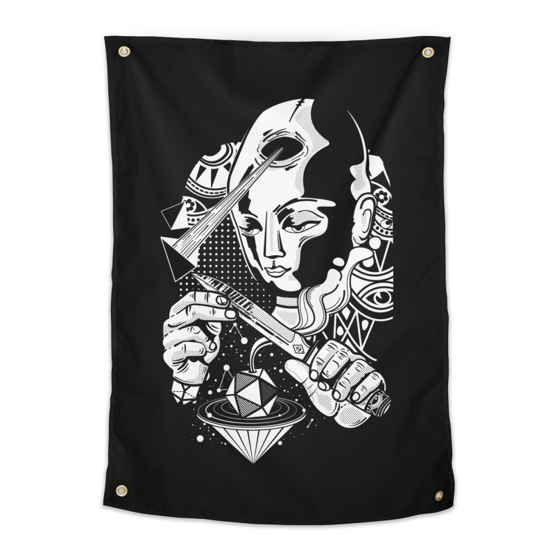 LOTOFACE Home Tapestry by kukulcanvas's Artist Shop