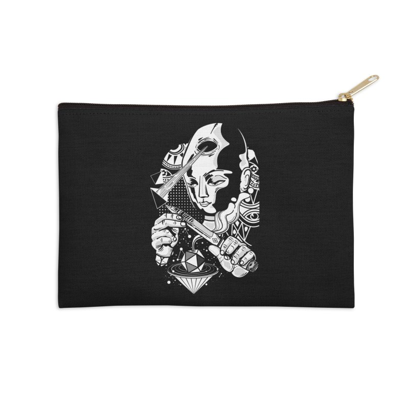 LOTOFACE Accessories Zip Pouch by kukulcanvas's Artist Shop