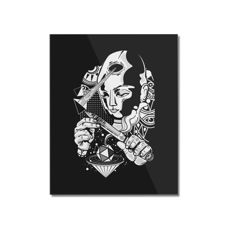 LOTOFACE Home Mounted Acrylic Print by kukulcanvas's Artist Shop