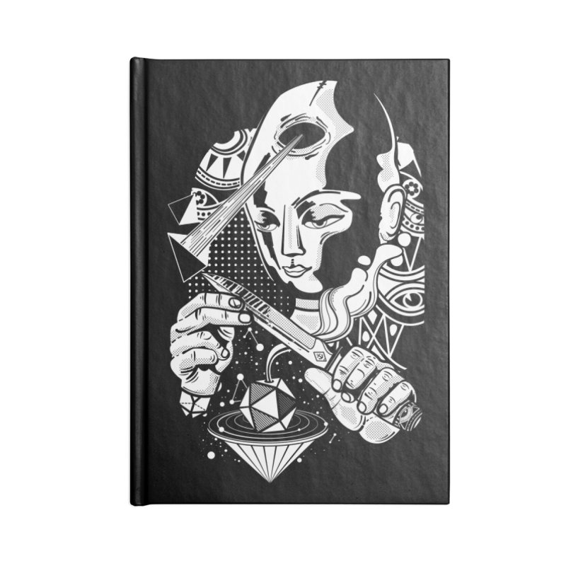 LOTOFACE Accessories Blank Journal Notebook by kukulcanvas's Artist Shop
