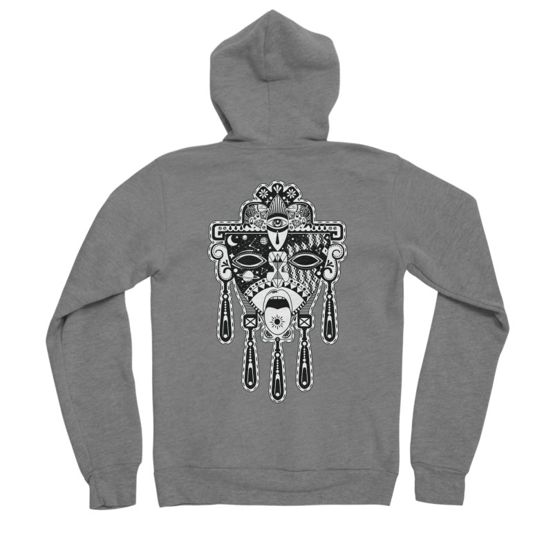 JADE Men's Zip-Up Hoody by kukulcanvas's Artist Shop