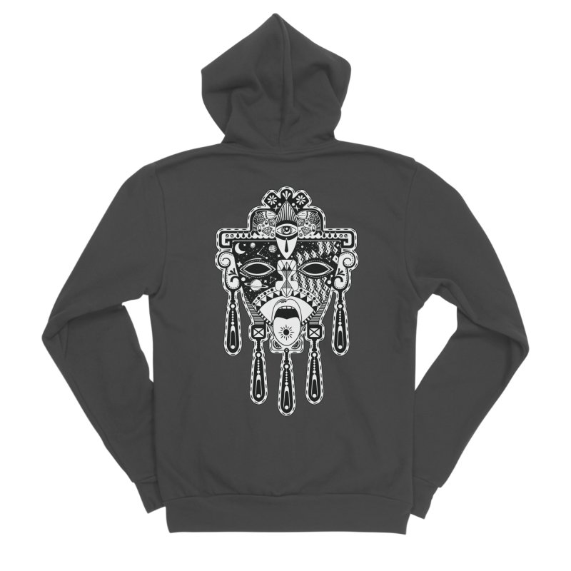 JADE Men's Sponge Fleece Zip-Up Hoody by kukulcanvas's Artist Shop
