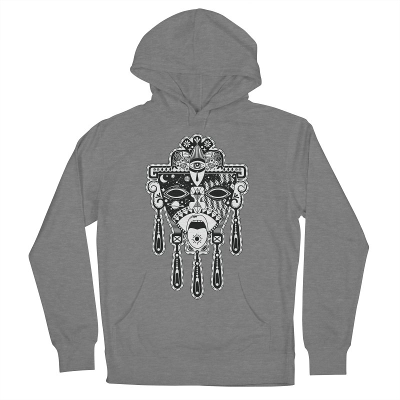 JADE Men's French Terry Pullover Hoody by kukulcanvas's Artist Shop