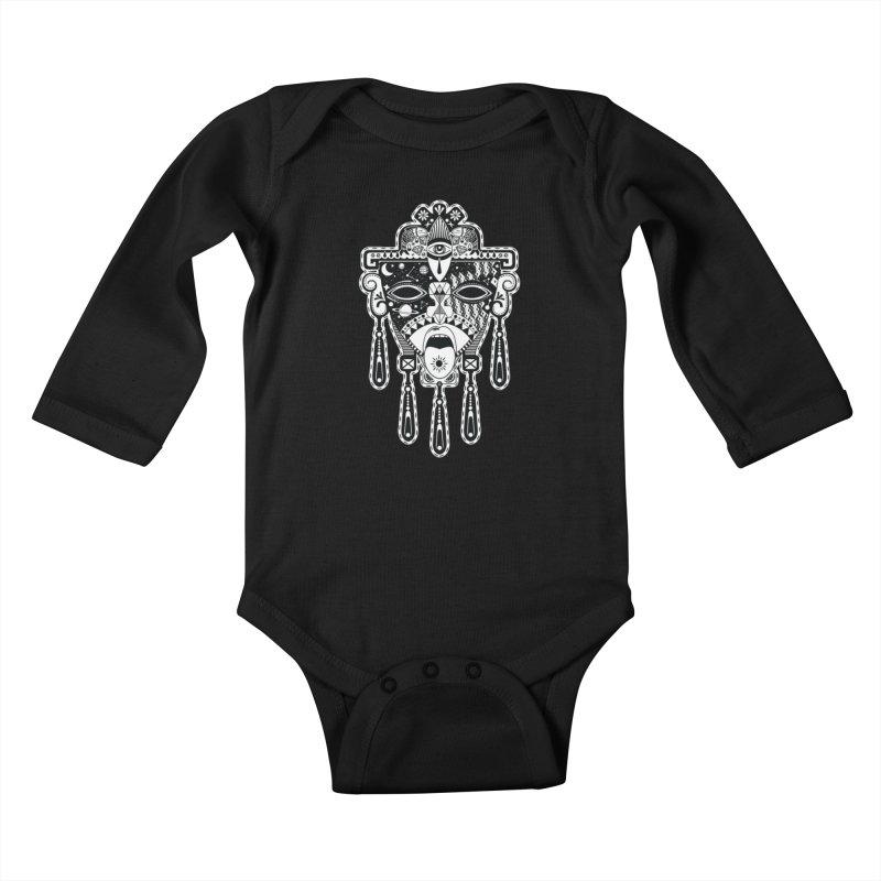 JADE Kids Baby Longsleeve Bodysuit by kukulcanvas's Artist Shop