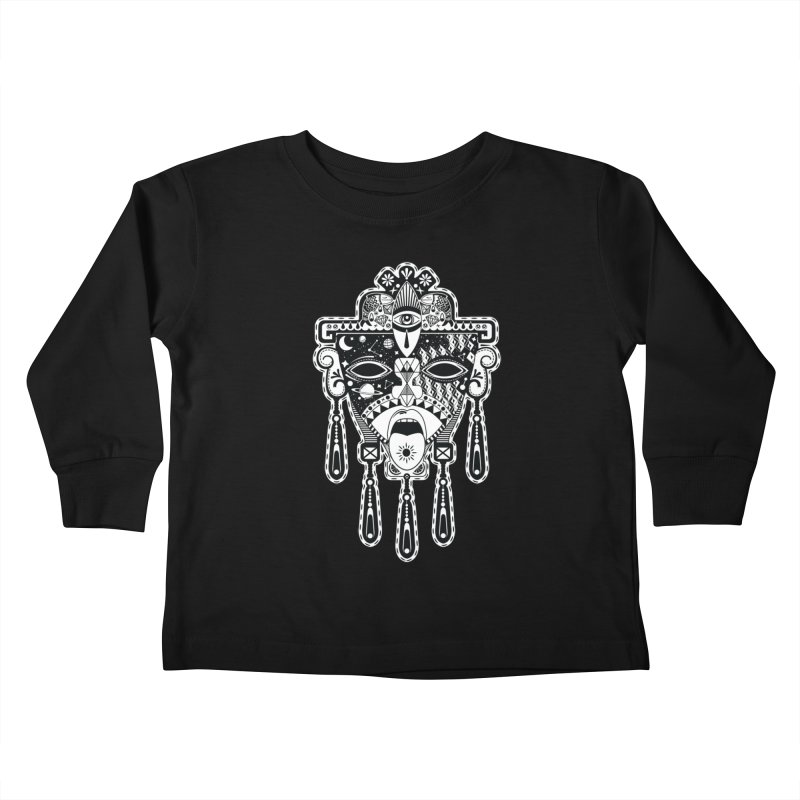 JADE Kids Toddler Longsleeve T-Shirt by kukulcanvas's Artist Shop