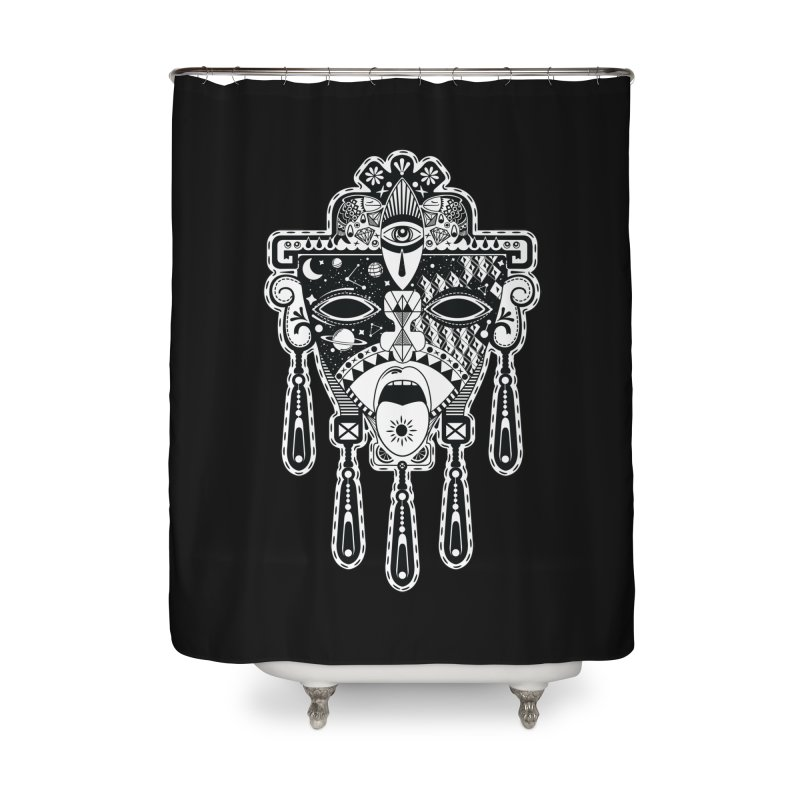 JADE Home Shower Curtain by kukulcanvas's Artist Shop