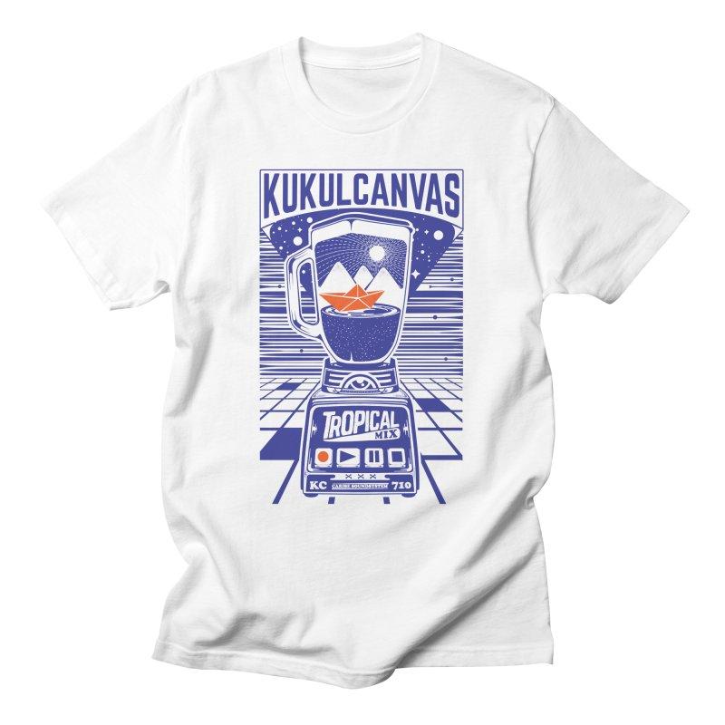 TROPICAL MIX Men's T-Shirt by kukulcanvas's Artist Shop