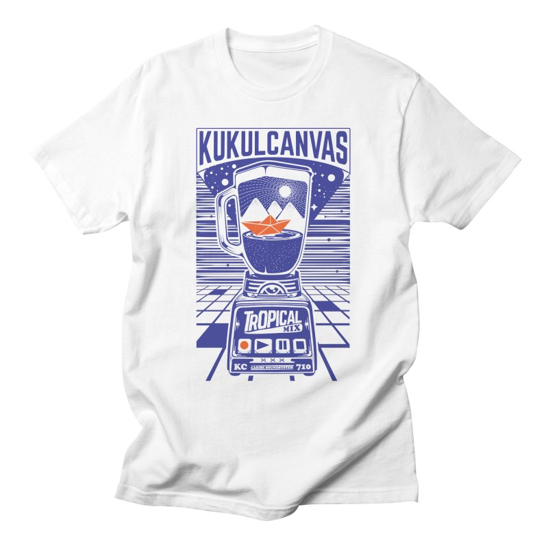 TROPICAL MIX Women's T-Shirt by kukulcanvas's Artist Shop