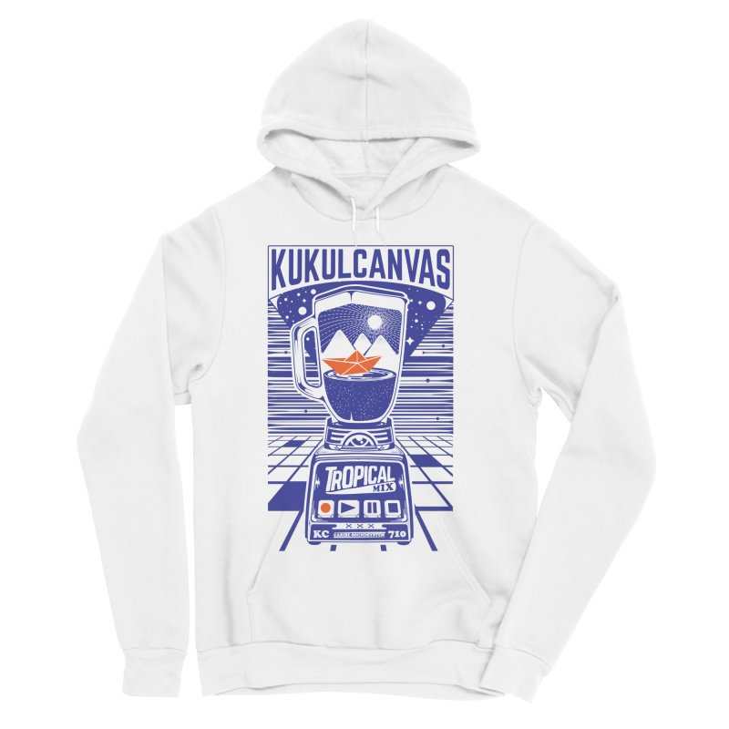 TROPICAL MIX Women's Sponge Fleece Pullover Hoody by kukulcanvas's Artist Shop
