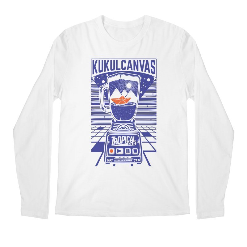 TROPICAL MIX Men's Regular Longsleeve T-Shirt by kukulcanvas's Artist Shop