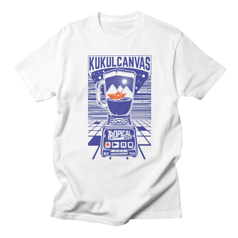 TROPICAL MIX Men's Regular T-Shirt by kukulcanvas's Artist Shop