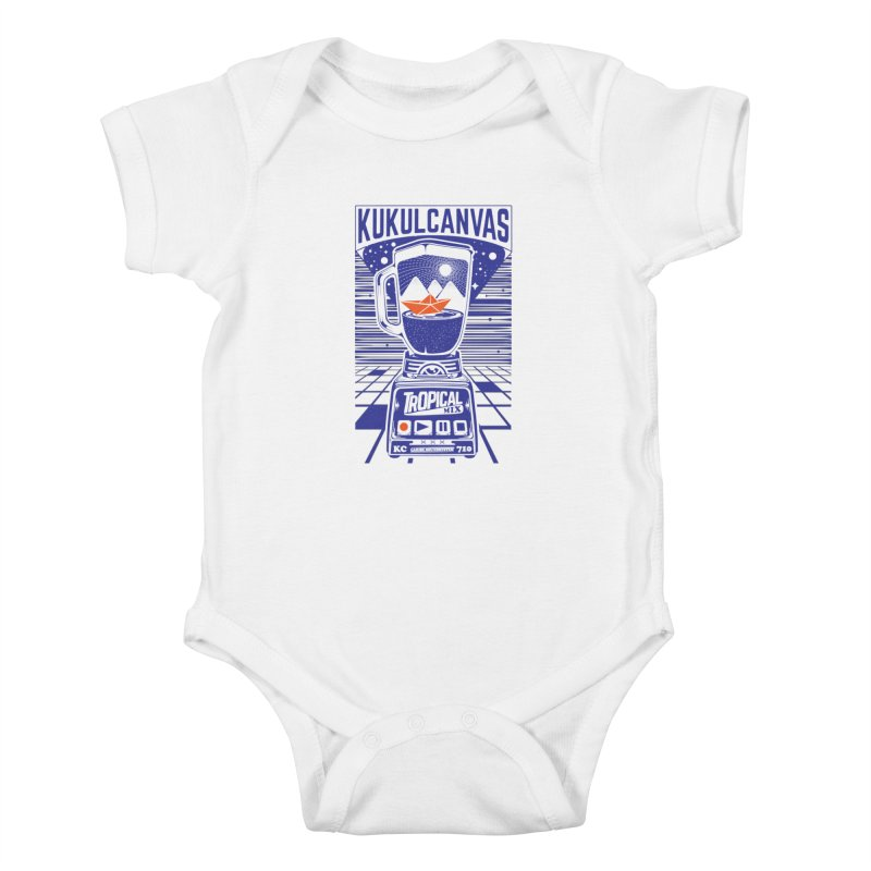 TROPICAL MIX Kids Baby Bodysuit by kukulcanvas's Artist Shop