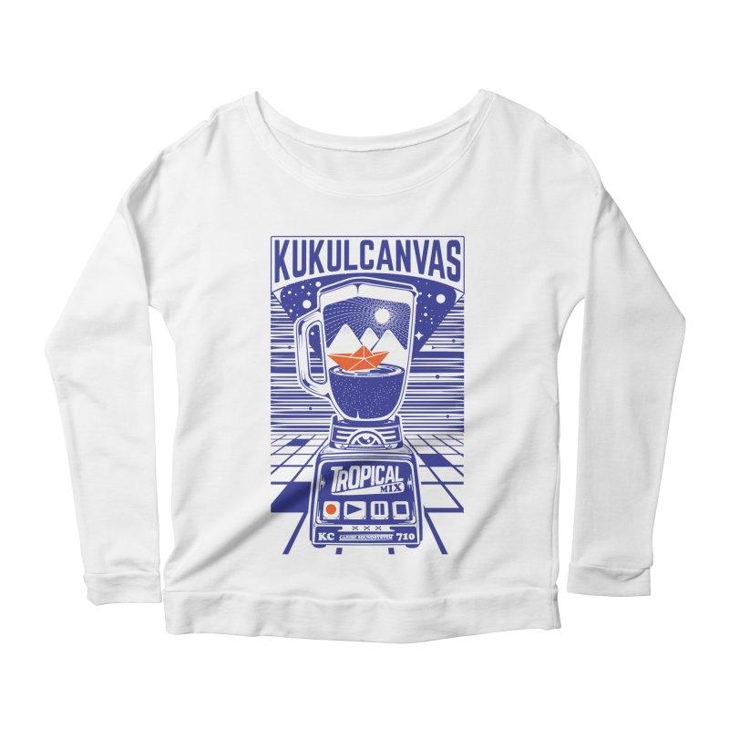 TROPICAL MIX Women's Longsleeve T-Shirt by kukulcanvas's Artist Shop