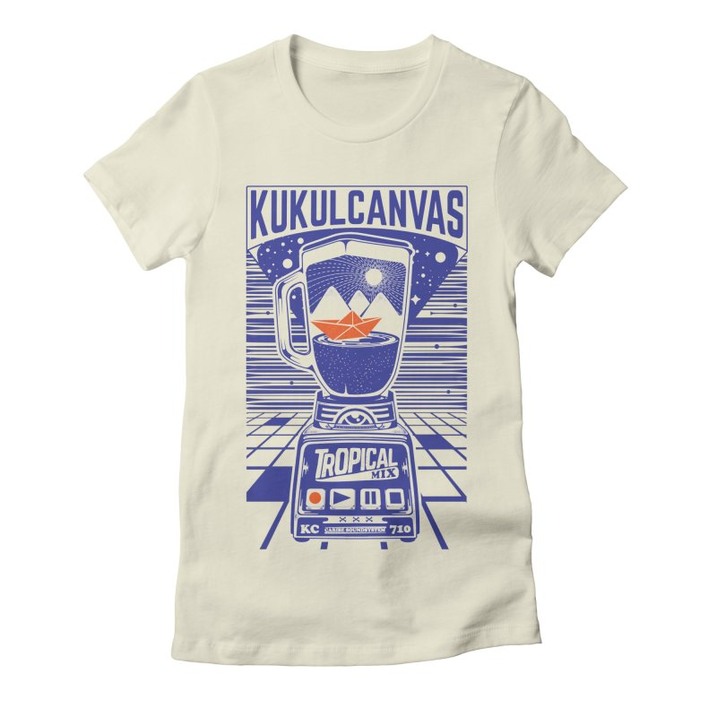TROPICAL MIX Women's T-Shirt by kukulcanvas's Artist Shop