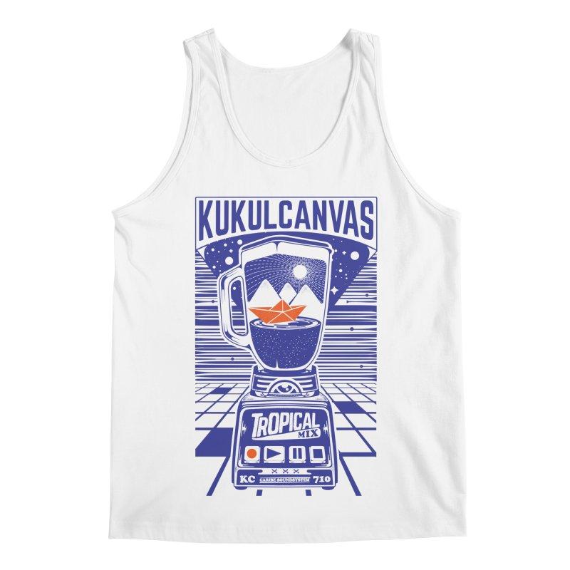 TROPICAL MIX Men's Regular Tank by kukulcanvas's Artist Shop