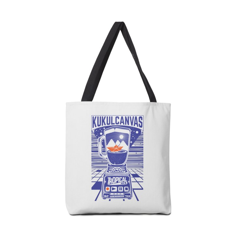 TROPICAL MIX Accessories Tote Bag Bag by kukulcanvas's Artist Shop