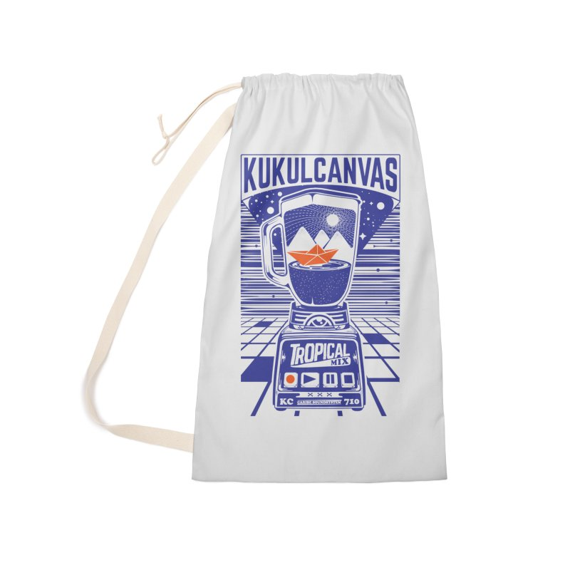 TROPICAL MIX Accessories Bag by kukulcanvas's Artist Shop