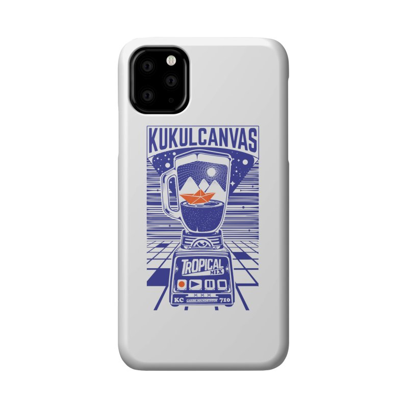 TROPICAL MIX Accessories Phone Case by kukulcanvas's Artist Shop