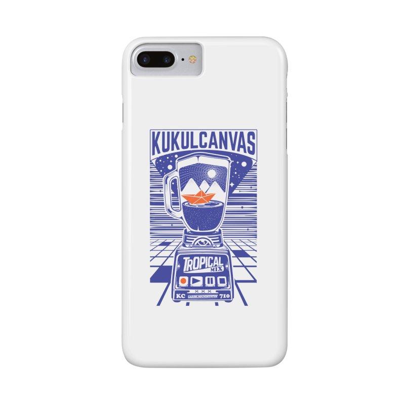TROPICAL MIX Accessories Phone Case by kukulcanvas's Artist Shop
