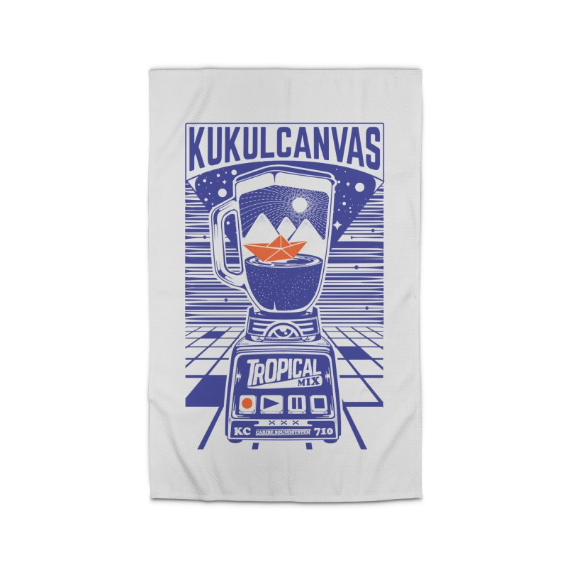 TROPICAL MIX Home Rug by kukulcanvas's Artist Shop