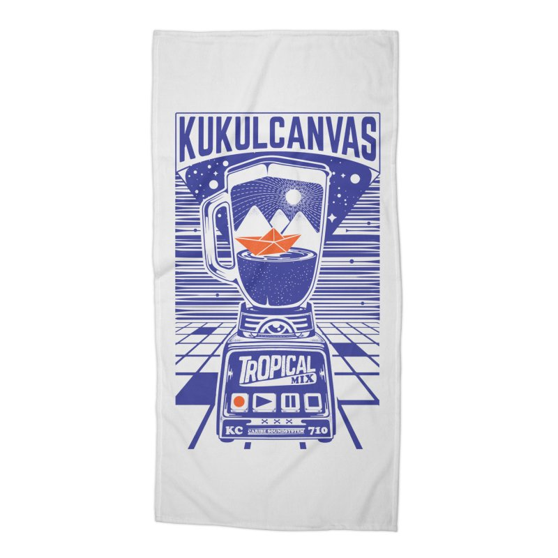 TROPICAL MIX Accessories Beach Towel by kukulcanvas's Artist Shop