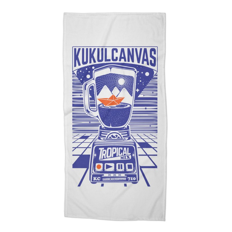 TROPICAL MIX Accessories Beach Towel by kukulcanvas's Artist Shop