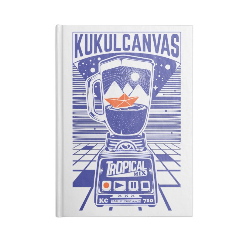 TROPICAL MIX Accessories Lined Journal Notebook by kukulcanvas's Artist Shop