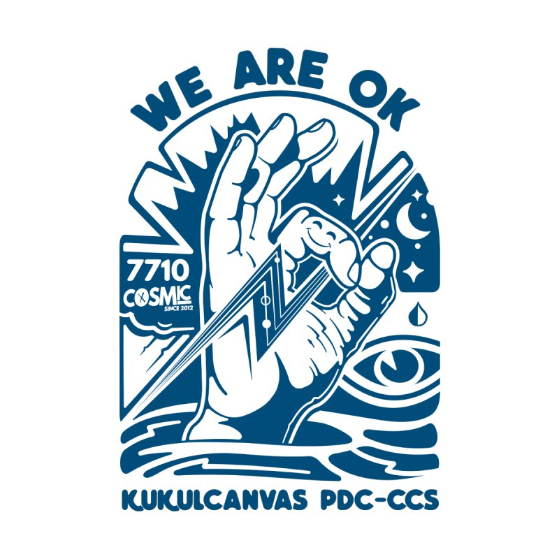 WE ARE OK Kids T-Shirt by kukulcanvas's Artist Shop