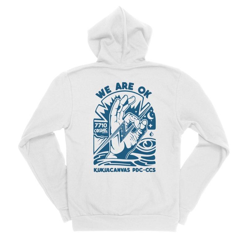 WE ARE OK Men's Zip-Up Hoody by kukulcanvas's Artist Shop