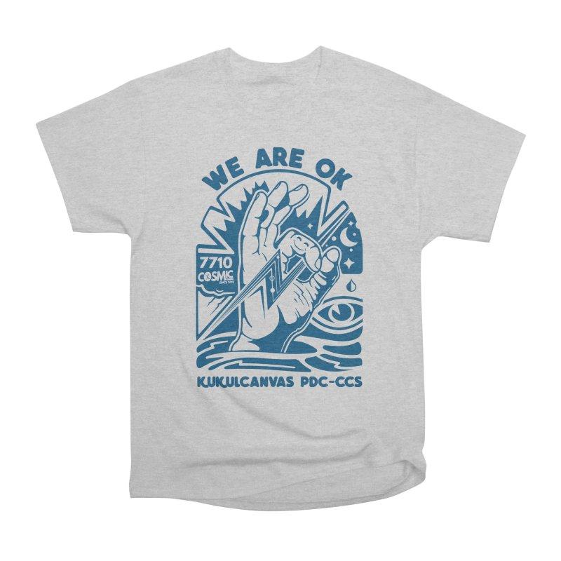 WE ARE OK Men's T-Shirt by kukulcanvas's Artist Shop