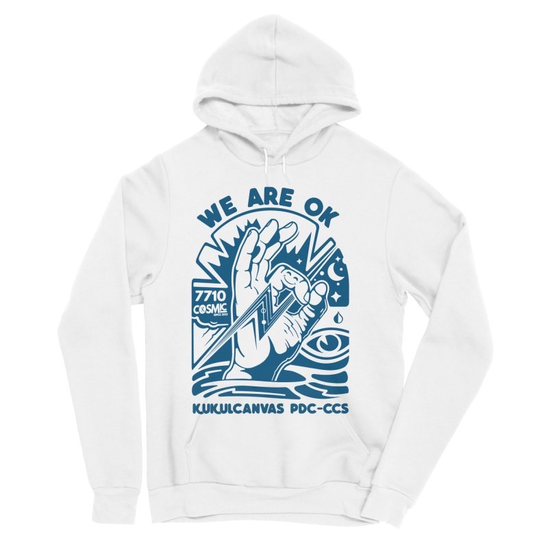 WE ARE OK Women's Sponge Fleece Pullover Hoody by kukulcanvas's Artist Shop