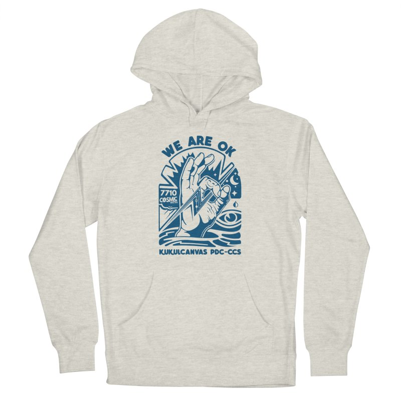 WE ARE OK Women's Pullover Hoody by kukulcanvas's Artist Shop