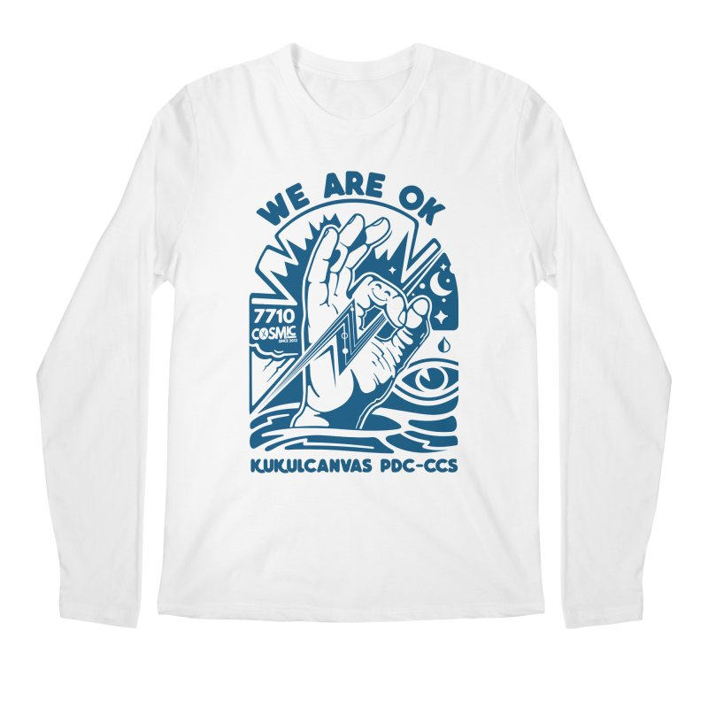 WE ARE OK Men's Regular Longsleeve T-Shirt by kukulcanvas's Artist Shop