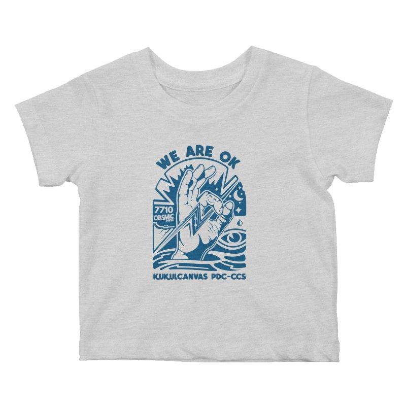 WE ARE OK Kids Baby T-Shirt by kukulcanvas's Artist Shop